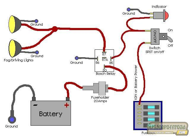 IPF spotties wiring diagram - AUSJEEPOFFROAD.COM Jeep News Australia