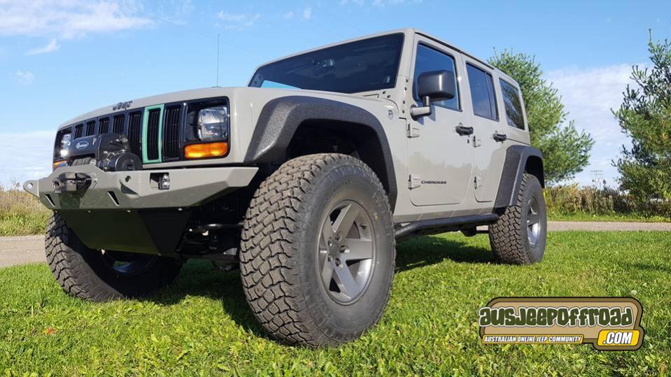 sema 2016 Jeep Pathkiller XJKU