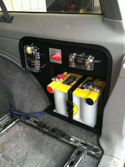 Dual Second Battery In Cargo Bay Wing Ausjeepoffroad
