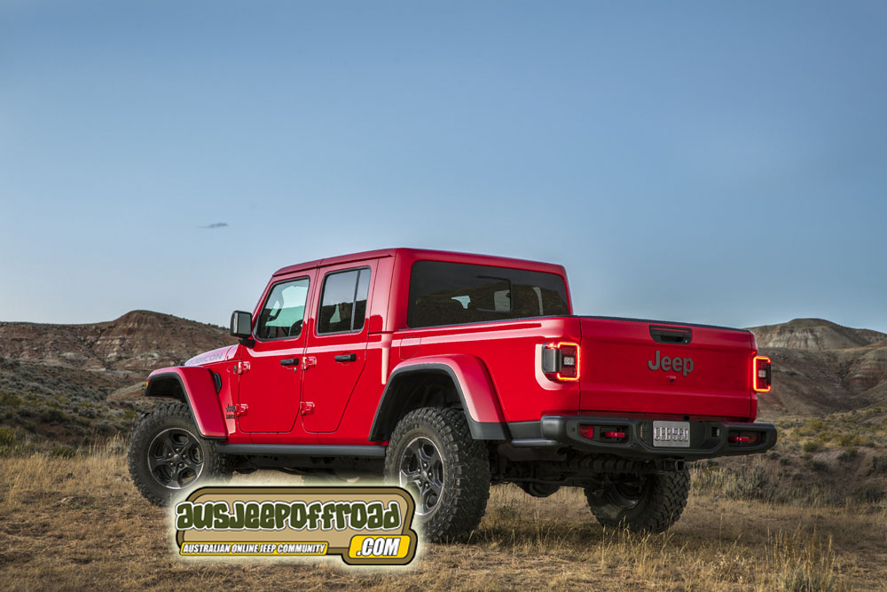 2020 Jeep Gladiator Leaked Photos Gallery