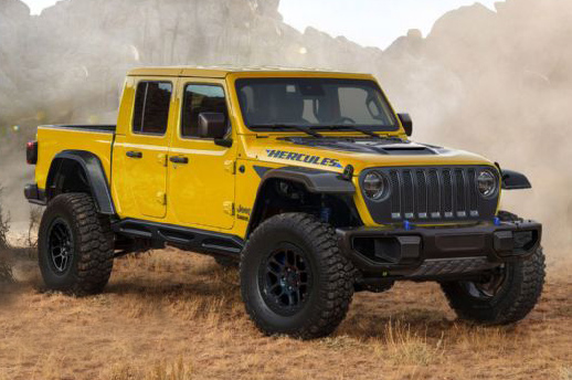 Is Jeep working up a rival to the Ford Raptor? Jeep Gladiator