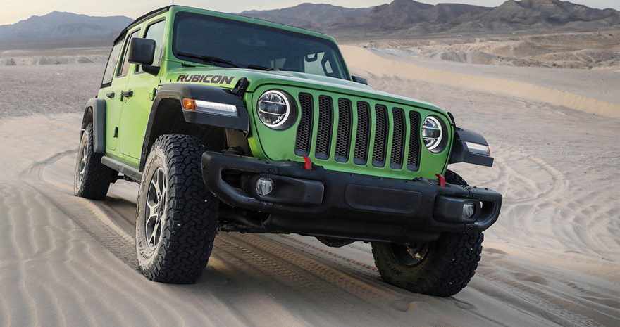 2019 Jeep JL Wrangler Rubicon eTorque 4x4